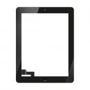 Forfait vitre tactile Noire iPad rétina 3/4