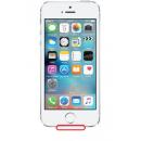 Forfait connecteur de charge / connecteur jack / micro interne Blanc iPhone 5S