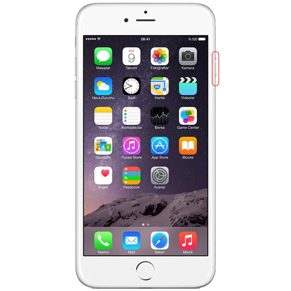 Forfait bouton power iPhone 6+