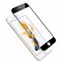 Vitre de protection noire en verre trempé iPhone 6+