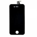 Forfait vitre tactile Noire + LCD iPhone 4