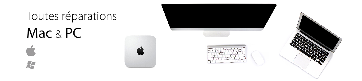 Reparations ordinateurs Mac PC